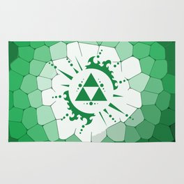 Legend Of Zelda Triforce Rug