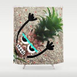 Piñaplant Shower Curtain