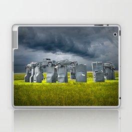 Car Henge in Alliance Nebraska after England's Stonehenge Laptop & iPad Skin