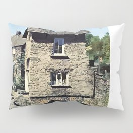 Old Bridge House Ambleside Cumbria England Pillow Sham