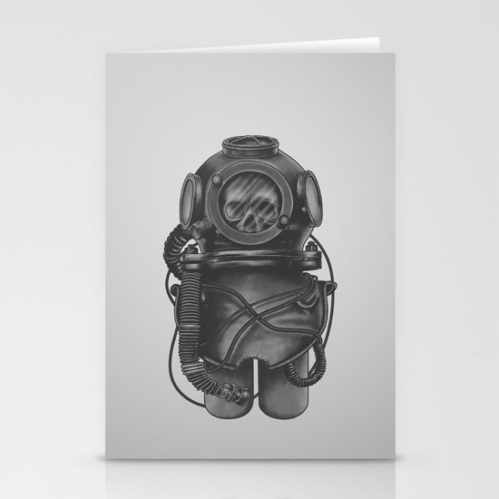 The Dead Diver Stationery Cards
