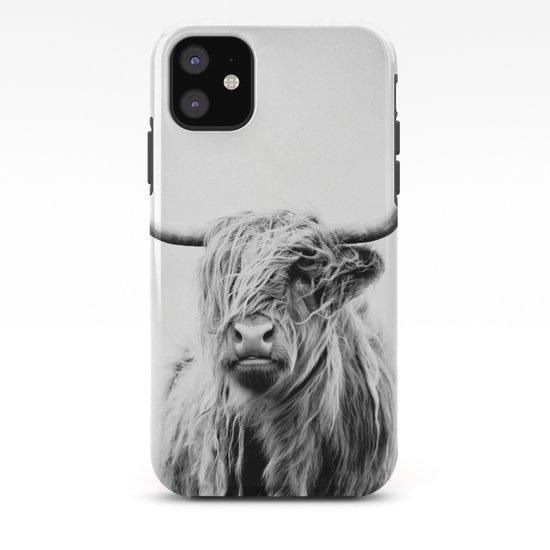 portrait of a highland cow - (vertical) by doritfuhg