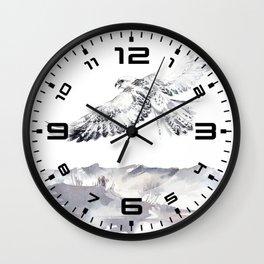 Beach Scenery & Bird 2 Wall Clock