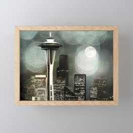Fifty Shades of Grey Space Needle Framed Mini Art Print