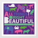 All things bright and beautiful by pookin