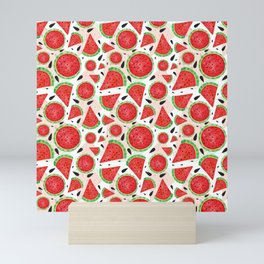 seet watermelon Mini Art Print