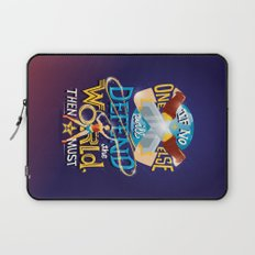 Defend your world v2 Laptop Sleeve