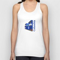 colombia Tank Tops featuring Colombia  by Design4u Studio