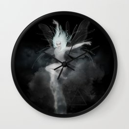 Air Witch - Elements Collection Art Print Wall Clock