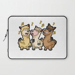 ALPACAPELLA A cappella Alpaca Llama Singer Chorus Laptop Sleeve