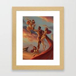 The Cerberus Unchain Framed Art Print