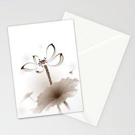 Oriental Lotus 003 Stationery Cards