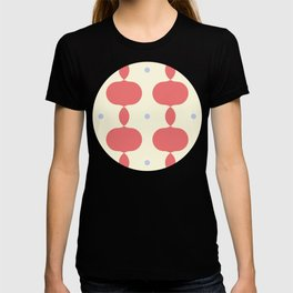 Circles and Ogee Pattern T-shirt