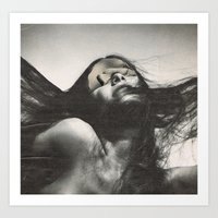 sisters Art Prints featuring sisters by Hugo Barros