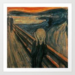 The Scream Kunstdrucke