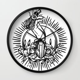 Witchcraft. Wall Clock
