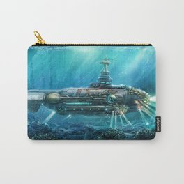 Steampunk Submarine Carry-All Pouch