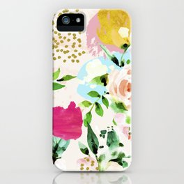 Floral Blush #society6 #decor #buyart iPhone Case