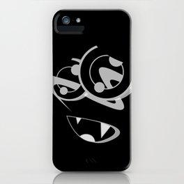 MOOSE BLACK SiDE ver. (Original Characters Art By AKIRA) iPhone Case