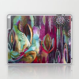 """Held and Healed"" Original Painting by Flora Bowley Laptop & iPad Skin"