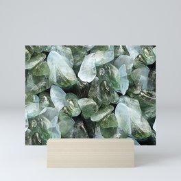 Crystal Chippings Mini Art Print