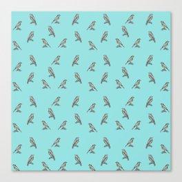 Little birds - by Fanitsa Petr Canvas Print