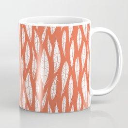 Quail Feathers (Poppy) Coffee Mug
