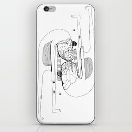 Two's Company iPhone Skin