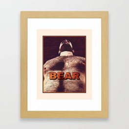 Bear (Art) Framed Art Print