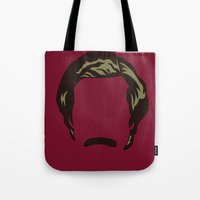anchorman Tote Bags featuring Ron Burgundy: Anchorman by BC Arts