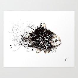 WishFish Art Print