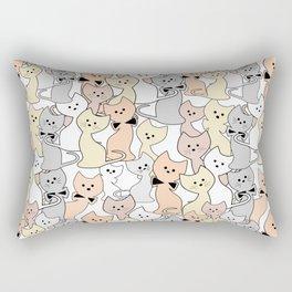 Little kittens 22 Rectangular Pillow