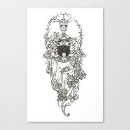 Major Arcana XIII Death Canvas Print