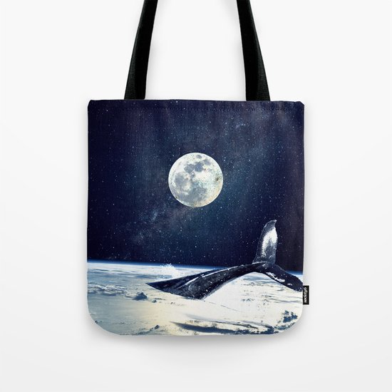 Stay in Space Tote Bag