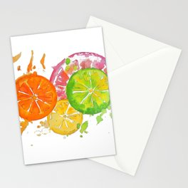 Citrus Burst! Stationery Cards