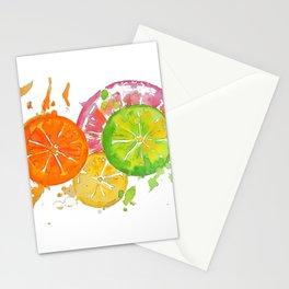 Citrus Burst! Stationery Cards