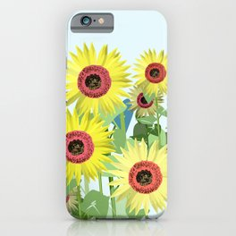 A sunny day lb. iPhone Case