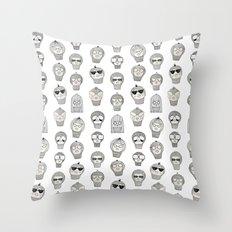 Laura & Friends Throw Pillow