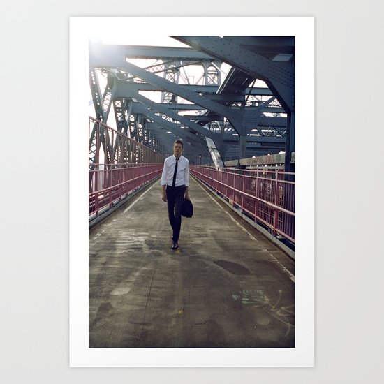 Summer in NYC pt.3 Art Print