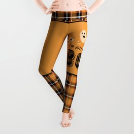 I'm Just Here for the Boos Leggings