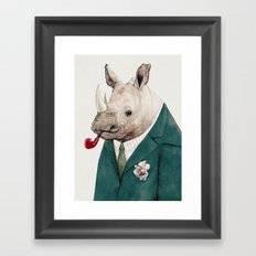 Rhinoceros Framed Art Print