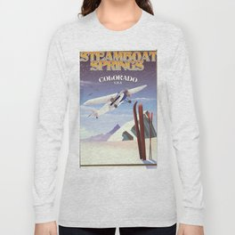 Steamboat Springs Colorado Long Sleeve T-shirt
