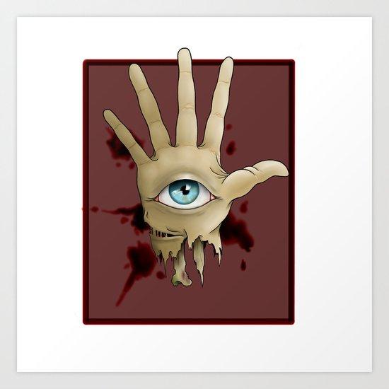 Omnipotence Art Print