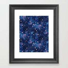 Zodiac - Watercolor Framed Art Print