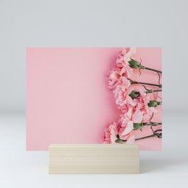 Blush Pink Flower Art Mini Art Print