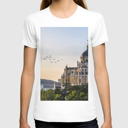 Almudena cathedral of Madrid T-shirt