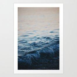 ocean waves print Art Print