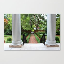 View From The Portico Canvas Print