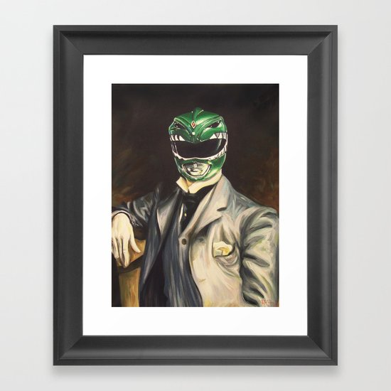 Gentleman Ranger Framed Art Print