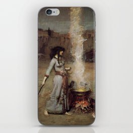 The Magic Circle, John William Waterhouse. iPhone Skin